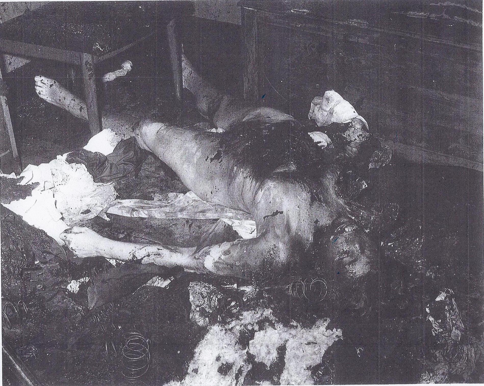 Close View Of Mary S Body On The Floor Of The Bedroom